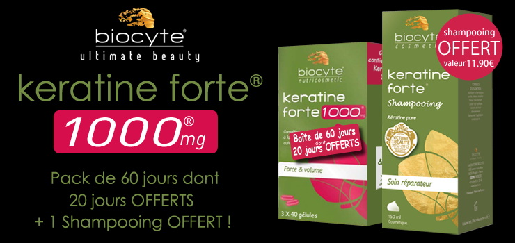 major biocyte keratine forte 1000 mg pack