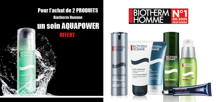 Biotherm Homme Offre AQUAPOWER
