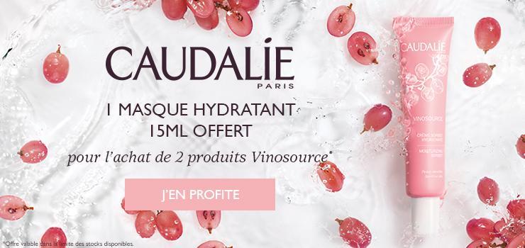 Caudalie Offre Vinosource Masque OFFERT