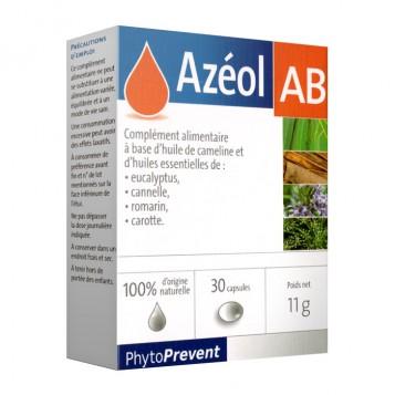 Pileje Azéol - AB - 30 Capsules 100% d'origine naturelle A partir de 12 ans 3401577875522
