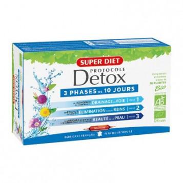 Super Diet Protocole Detox BIO - 30 Ampoules 3428881241201