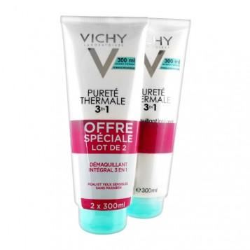 Vichy Pureté Thermale Démaquillant Intégral 3 en 1 - DUO 3433425162393