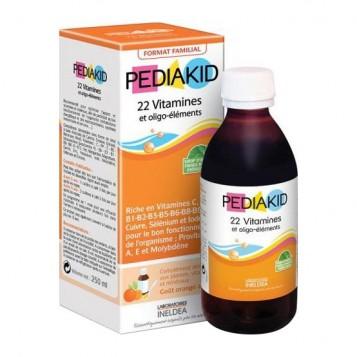 Pédiakid 22 Vitamines et Oligo-éléments - 250 ml 3700225602252