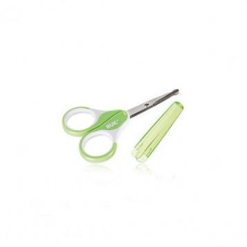 Ciseaux avec étui (vert ou mauve)