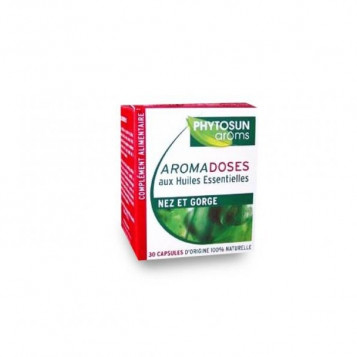 Aromadoses Nez et Gorge-  30 Capsules