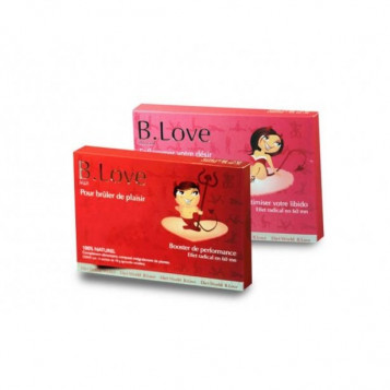 B.Love Man + B.Love Woman Lot de 1 + 1 = 2 boites