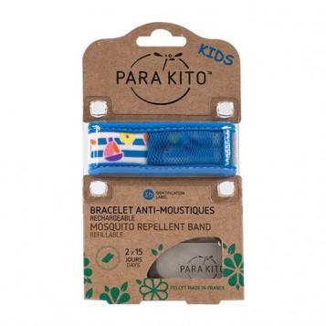 Parakito Bracelet Enfant Toys Rechargeable Anti-Moustiques avec 2 Recharges 8594179653331