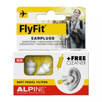 Alpine Hearing Protection FlyFit Bouchons d'Oreille à cause d'une variation de pression