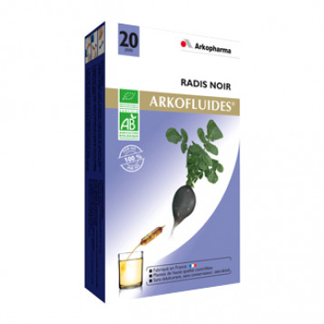 Arkopharma Arkofluides - Radis Noir Bio 20 Ampoules