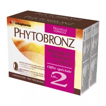 arkopharma phytobronz lot de 2 nouvelle formule complement alimentaire hyperpara