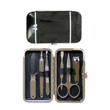 Kit Manucure Perles - Noir à Pois Blanc 3401598493811