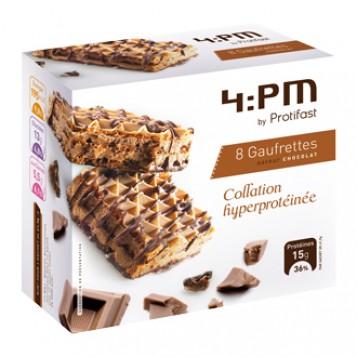 Protifast 4:PM 8 Gaufrettes Saveur Chocolat
