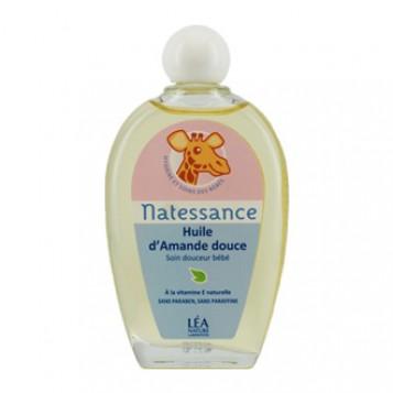 Léa Nature Natessance - Huile Amande Douce 50 ml 100 % naturelle Pour toute la famille