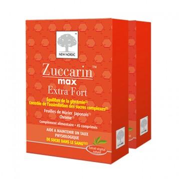 Zuccarin Max Extra Fort 45 Comprimés - Lot de 2 Boites