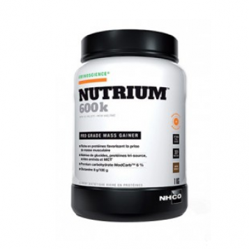 Nutrium 600k Saveur Vanille - 1kg