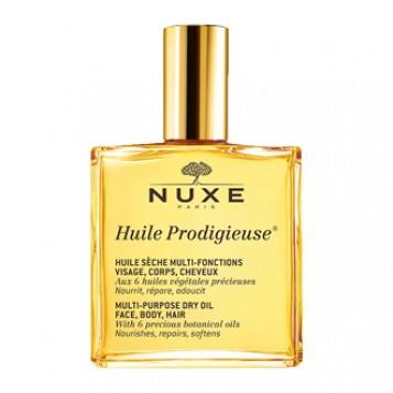 Nuxe Huile Prodigieuse 100 ml Votre huile sèche pour le visage, le corps et les cheveux 100 ml