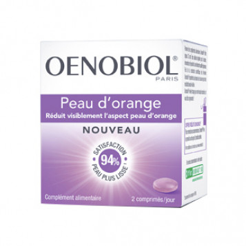 oenobiol peau d orange 40 comprimes reduit visiblement l aspect peau d orange