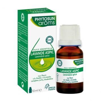 Phytosun Aroms Huile Essentielle - Lavande Aspic BIO - 10 ml Produit cosmétique Lavandula spica latifolia