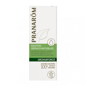 Pranarôm Aromaforce - Solution Défenses Naturelles BIO 30 ml A partir de 3 ans 100% aux huiles essentielles biologiques