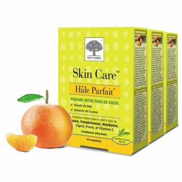 New Nordic Skin Care Hâle Parfait Lot de 3 Boites Skin Care Hâle Parfait, pour une peau dorée et un bronzage parfait qui dure !