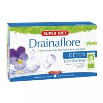 Drainaflore Bio - 20 Ampoules
