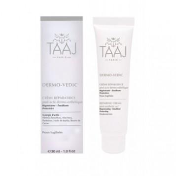 taaj-dermo-vedic-creme-reparatrice-30-ml-post-acte-dermo-esthetique-regenerante-emolliente-protectrice-pour-peaux-fragilisees-soin-visage-hyperpara