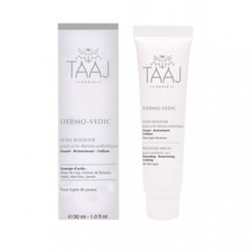 taaj-dermo-vedic-soin-booster-30-ml-soin-post-acte-dermo-esthetique-lissant-restructurant-unfiant-soin-visage-hyperpara