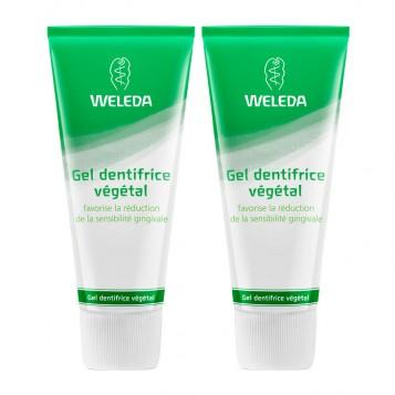 Weleda Gel Dentifrice Végétal DUO 2 x 75 ml Offre Duo -20% NOUVELLE FORMULE Favorise la réduction de la sensibilité gingivale 3596202561922
