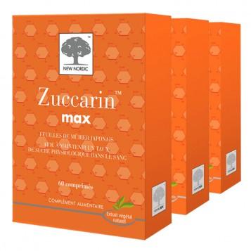 Zuccarin Max 60 Comprimés - Lot de 3 Boites