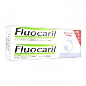 Fluocaril Dentifrice Blancheur Bi-Fluoré 145mg - DUO 3014260096816