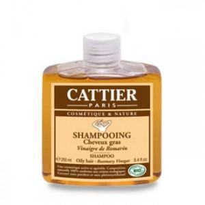Shampooing au Vinaigre de Romarin - Cheveux Gras - 250 ml