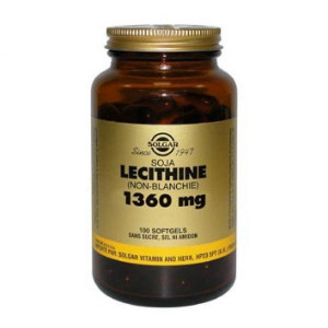Lecithine de Soja 1360 mg