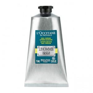 L'Occitane en Provence L'Homme Cologne Cédrat - Gel Crème Après-Rasage - 75 ml Texture fondante et non grasse Pénètre rapidement 3253581434598