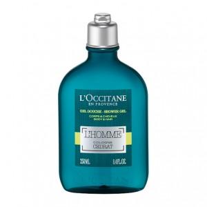L'Occitane en Provence L'Homme Cologne Cédrat - Gel Douche Corps et Cheveux - 250 ml Huile essentielle de cédrat 3253581453377