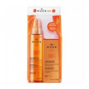 Nuxe Sun - Trousse Huile Bronzante SPF30 3264680019036