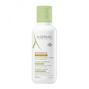 Aderma Exomega Control - Crème Émolliente - 400 ml 3282770073577