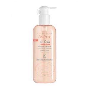 Avène TriXera Nutrition - Nettoyant Nutri-Fluide - 400 ml Sans savon Visage et corps Pour toute la famille A partir de 3 ans Peaux sensibles sèches à très sèches