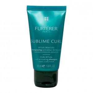 Furterer René Sublime Curl - Shampooing Activateur de Boucles - 50 ml Cheveux ondulés, bouclés Sans silicone 3282770105148