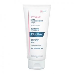 Ducray Ictyane - Crème Anti-Dessèchement Corps - 200 ml 3282770106992