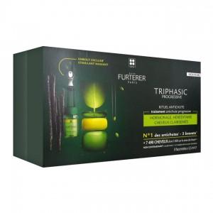 Furterer René Triphasic Progressive - Rituel Antichute Traitement Antichute Progressive - 8 x 5,5 ml 3282770110456