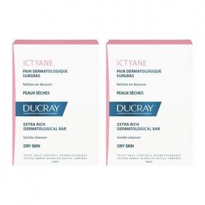 Ducray Ictyane - Pain Dermatologique Surgras - DUO 3282770112788