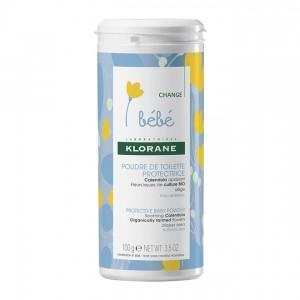 Klorane Bébé Poudre de Toilette Protectrice - 100gr 3282770200027