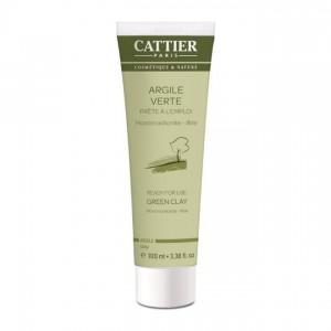 Cattier Argile Verte - Prête à l'Emploi - 100 ml 3283950011068