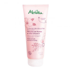 Melvita Crème de Douche - Pétales de Roses & Miel d'Acacia - 200 ml 3284410038151