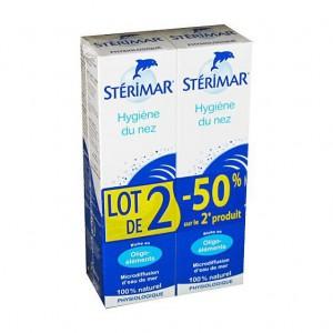 Stérimar Hygiène du Nez - DUO Lot de 2  -50% sur le 2e produit 3331300097412