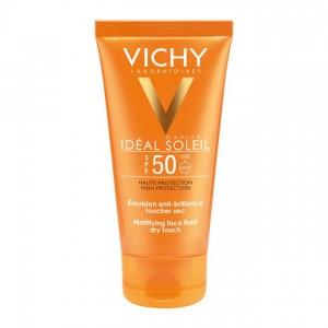 Vichy Capital Idéal Soleil - Emulsion Anti-BrillanceTouché Sec  SPF50 - 50 ml 3337871323622