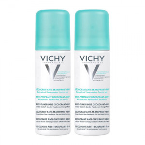 Vichy Déodorant Anti-Transpirant Efficacité 48H - Spray - DUO 3337871397845