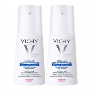 Vichy Déodorant Spray Fraîcheur Extrême DUO 3337871397852