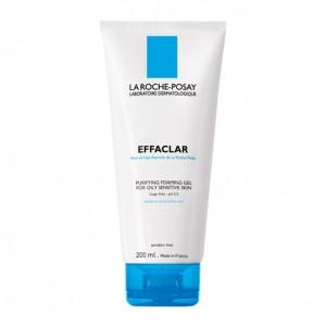 La Roche Posay Effaclar - Gel Moussant Purifiant - 200 ml Peaux grasses et sensibles Respecte les peaux sensibles 3337872411083