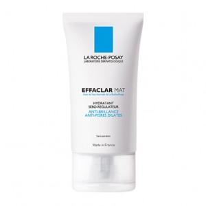 La Roche Posay Effaclar Mat - Hydratant Sebo-Régulateur - 40 ml Anti-brillance Anti-pores dilatés Sans paraben 3337872413025